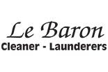LE BARON CLEANERS logo