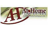 AT HOME FURNISHINGS logo