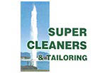 SUPER CLEANERS AND ALTERATIONS logo