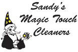 SANDY'S MAGIC TOUCH logo