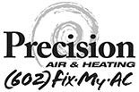 PRECISION A/C & HEATING logo