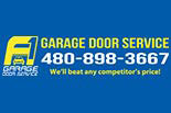 A1 GARAGE DOOR SERVICES logo