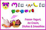 MIX 'N' LIX YOGURT logo