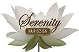 SERENITY HAIR DESIGN logo