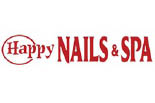 HAPPY NAIL AND SPA logo