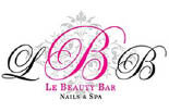 LE BEAUTY BAR NAILS & DAY SPA logo