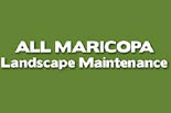 ALL MARICOPA LANDSCAPE MAINTENANCE logo