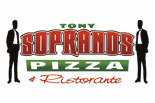 TONY SOPRANOS PIZZA  HAMMONTON logo