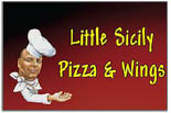 LITTLE SICILY PIZZA & WINGS logo