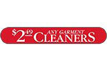 $2.49 ANY GARMENT CLEANERS - SPRINGFIELD logo