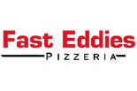 FAST EDDIE'S PIZZA & STEAKS logo