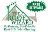 THE ROOF WIZARD logo