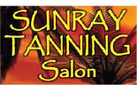 SUNRAY TANNING SALON logo