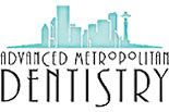 ADVANCED METROPOLITAN DENTISTRY logo