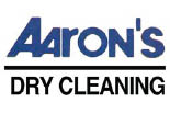 AARON'S DRY CLEANING logo