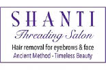 SHANTI THREADING SALON logo