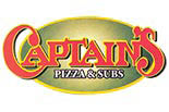 CAPTAIN'S PIZZA OF SHALER logo