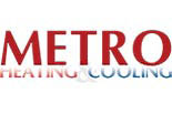 METRO HEATING & COOLING - FURNACE logo