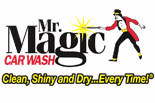 MR MAGIC CARWASH logo