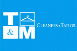 T & M CLEANERS - TAILOR SHOP logo
