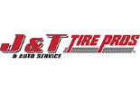 J & T TIRE AND AUTO logo