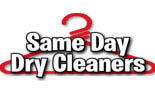 SAME DAY DRY CLEANERS logo