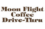 MOON FLIGHT CAR & DOG WASH COFFEE DRIVE THRU logo
