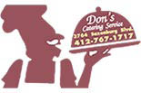 DON'S CATERING SERVICE logo