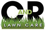 C AND R LAWN CARE logo