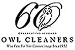 Owl Cleaners / Cranberry logo