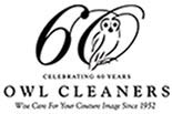 Owl Cleaners / McCandless logo