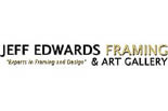 JEFF EDWARDS FRAMING & ART GALLERY logo