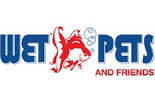 WET PETS AND FRIENDS logo