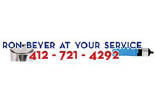 RON BEYER AT YOUR SERVICE logo