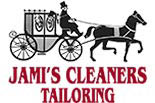 JAMI'S CLEANERS logo