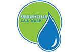 SQUEAKY CLEAN CAR WASH logo