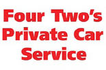 FOUR TWO'S PRIVATE CAR SERVICE logo