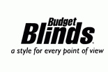 BUDGET BLINDS HUNTINGTON logo