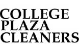 COLLEGE PLAZA CLEANERS logo