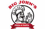 BIG JOHNS PIZZA & PASTA logo