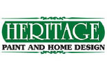 HERITAGE PAINT & HOME DESIGN STORE logo