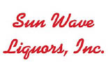 SUN WAVE LIQUORS AND WINE STORE logo
