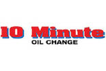 10 MINUTE OIL CHANGE logo