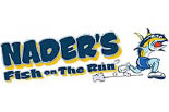 NADER'S FISH ON THE RUN logo