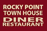 ROCKY POINT TOWN HOUSE DINER logo