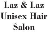 LAZ & LAZ UNISEX HAIR SALON logo