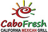 CABO FRESH CALIFORNIA MEXICAN SURF GRILL logo