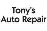 TONY'S AUTO REPAIR logo