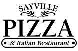 SAYVILLE  PIZZA logo