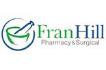 FRAN HILL PHARMACY logo